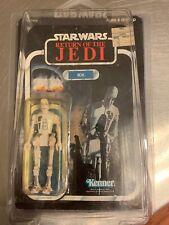 8D8 Vintage Star Wars action figure, still sealed on cut card, ROTJ 1983 Kenner