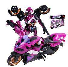 Transformer Autobots Girl Carrol Arcee Bike / Motor Brand New in Mint Purple