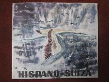 6/1963 BROCHURE HISPANO-SUIZA AERONAUTIQUE INDUSTRIE GENIE NUCLEAIRE CIGOGNE