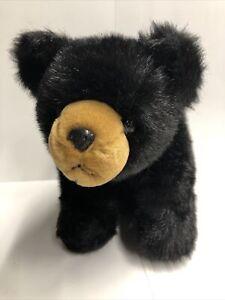 "The Bearington Collection Black Bear Cub (Size 16"") Plush Stuffed Animal Bear"