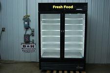 True Gdm 49 Hc Glass 2 Door Merchandiser Reach In Cooler Refrigerator 2019 Model
