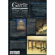La GAZETTE de l'Hôtel DROUOT 1996 N°29 Anne VALLAYER-COSTER Adam WEISWEILER Vins