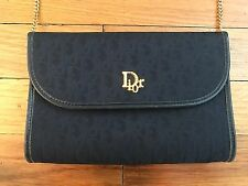 Christian Dior Pattern Flap Style Shoulder Bag