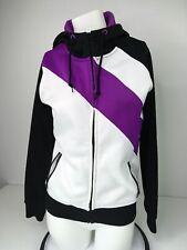 Empyre Women's Snow Fleece Hooded Purple Black Size M