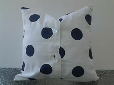 Premier Prints Oxygen Dots White/ Decorative Pillow Covers 16''x 16 %100 Cotton.