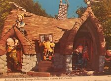 Animated Dwarfs Cottage Fable Cottage Victoria British Columbia Canada Post Card