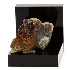 Sphalerite (Blende) + Siderite. 155.7 ct. La Mure, Isère, France. Ultra rare