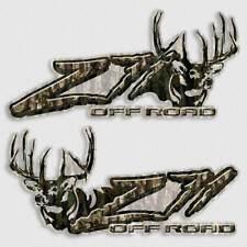 Camouflage 4x4 Silverado Slash Decal - Z71 Deer Hunting Sticker