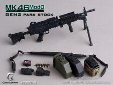 *Brand New* Crazy Dummy 1/6 Scale MK46MOD0 - Gen2 Para Stock (Black) *US Seller*