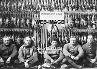 1910 DUCK HUNTERS 5X7 PHOTO SHOTGUNS CORMORANT LAKE SUCCESSFUL HUNTER AMERICANA