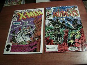 New Mutants Special Edition #1, Uncanny X-Men An #9 Asgard Quest LOT OF 2 COMICS