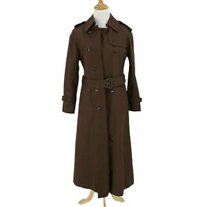 Vintage 'SFabulous by Saks Fifth Avenue Trench Coat Overcoat Womens Size 6 *READ