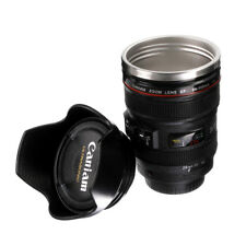 Caniam Camera Lens& Hood Canon EF 24-105mm Stainless Steel Travel Coffee Mug Cup