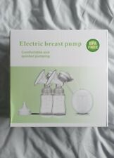 BNIB Double Electric Breast Pump With Accessories BPA free