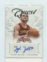 TYLER  ZELLER 2012-13 PANINI CRUSADE QUEST ROOKIE AUTO AUTOGRAPH #26