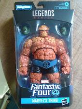 Marvel Legends Fantastic Four's Thing figure with Super Skrull Heads BAF! 2019