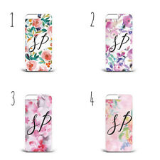 Personalised Water Color FLOWER HARD PHONE CASE S7 S8 S9 & Iphone 5S 7s X A77