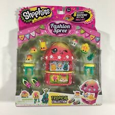 Shopkins Fashion Spree Tropical Exclusive Collection New