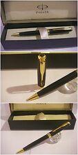 Penna a sfera Parker Sonnet golden Matte Black GT Ballpoint Pen