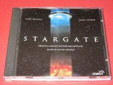 David Arnold – Stargate-colonna sonora (Europe, MILAN - 74321 24901-2) - CD
