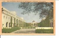 (L) The California Institute of Technology, Pasadena, California