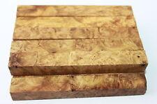 Aged Bird-eye Golden Camphor Burl Wood Pen Turning Blank 127mmx15mmx15mm