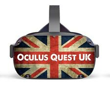 Vinyl Skin to fit Oculus Quest - UK Group/ Decal / Skin