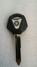 NEW YAMAHA MOTORCYCLE BLANK UNCUT KEY FZ YZF R6 R1 1998 - 2010 1999 - 2010 BLACK