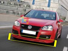 VW GOLF 5 MK5 SPOILER SOTTO PARAURTI ANTERIORE DESIGN GTI - 30 EDITION -