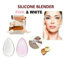 Silicone Make Up Gel Sponge Foundation Beauty Cosmetic Puff Blender Applicator