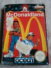 MCDONALDLAND NES GAME BOXED WITH INSTRUCTIONS