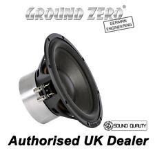 "GROUND ZERO GZPW REFERENCE 250 High-End Sound Quality 10"" Subwofer SQ"