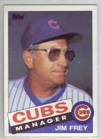 1985 Topps Baseball Chicago Cubs Team Set
