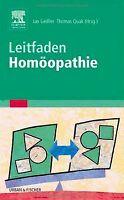 Leitfaden Homöopathie | Buch | Zustand gut