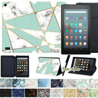 """For Amazon Fire 7"""" HD 8"""" HD 10"""" Tablet Leather Flip Smart Case Stand Cover"""