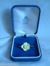 Vintage Collectable Boxed Aynsley China Flower Pin Brooch, Excellent Condition!!