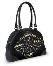 Liquorbrand Night Reaper Bowler Bag Gothic Rockabilly Handbag