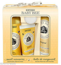 Burt's Bees Baby Bee SWEET MEMORIES Keepsake Photo Box: 4 Organic Toiletries