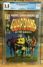 Marvel Super-Heroes #18 1st Appearance of Guardians of The Galaxy CGC 3.5