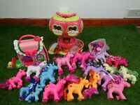 19x Little Pony-Style Fakie Horse Toy Figurines Buildings Fun Toys Lovely Gift