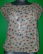 Juniors Sheer Blouse by Body Central Size 3
