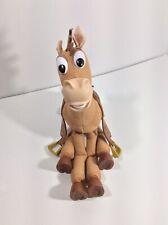 Bullseye Toy Story Horse Disney Pixar 10 Sounds Vibrates Plush w Saddle Thinkway