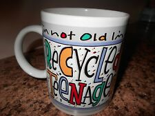 TRISTAR CUP MUG I'M NOT OLD IM A RECYCLED TEENAGER CUTE FUN