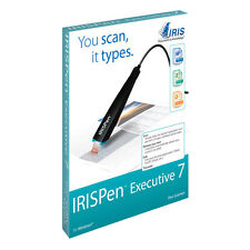 IRISPen Executive 7 Pen hand held pen scanner.for Windows. USB connection