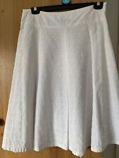 Ladies White Skirt Size 12