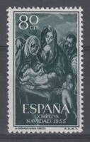 SPAIN (1955) - MNH - Sc# 843 - EDIFIL 1184 (80 cts) CHRISTMAS