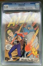 ATOM in SHOWCASE #35 CGC 5.0 KEY ISSUE 2ND APPEARANCE 1961 Gil Kane off-white