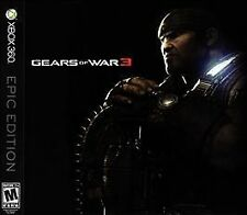 Gears of War 3 Epic Edition BRAND NEW SEALED COLLECTOR'S DREAM! ULTRA RARE Mint