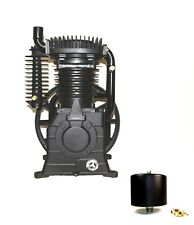 Abacbelairecp 10hp 2stage Cast Iron Replacement Air Compressor Pump 1312101037