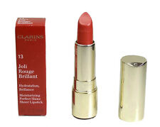 CLARINS 13 Cherry Joli Rouge Brilliant Lipstick Moisturising Shine Sheer 3.5g